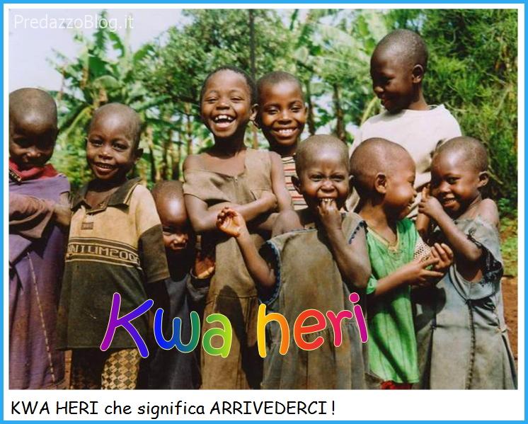 suor delia saluto kwa heri Suor Delia saluta gli amici alla partenza per il Congo