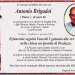 antonio brigadoi pinter 150x150 Necrologi, Alba Zanetti e Giuseppe Brigadoi (pinter)