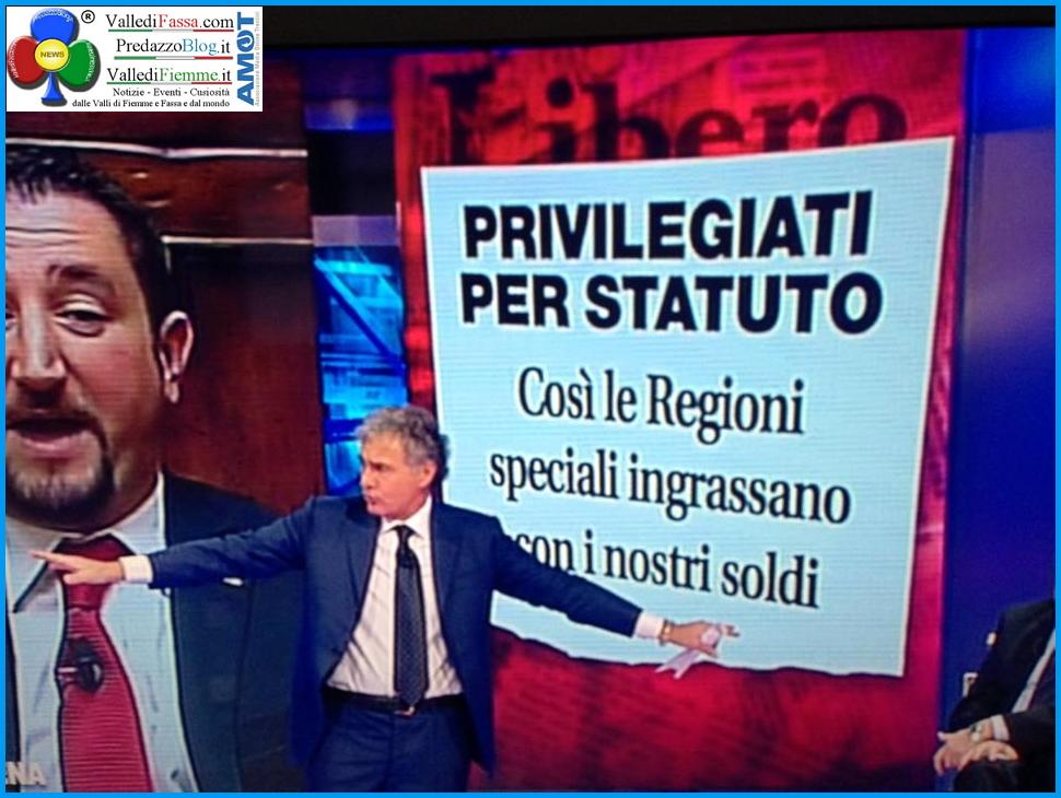 autonomia trentina sotto attacco dalla rai Il pungiglione di Vespa sul Trentino Alto Adige   La nuova primavera dellAutonomia?