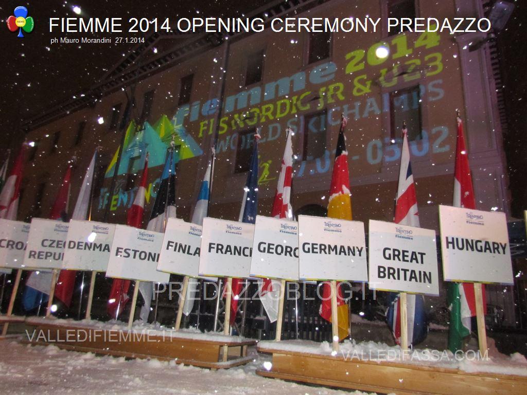 cerimonia apertura mondiali jr fiemme 2014 predazzo open cerimony81 La mission di Bruno Felicetti: Con i giovani verso i nuovi Mondiali