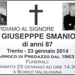 don giuseppe smaniotto predazzo 150x150 Predazzo necrologi, Giuseppe Dellagiacoma (giochelòn)