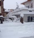 nevicata in fiemme e fassa 31.1.20141
