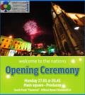 predazzo cerimonia apertura mondiali junior 2014 fiemme