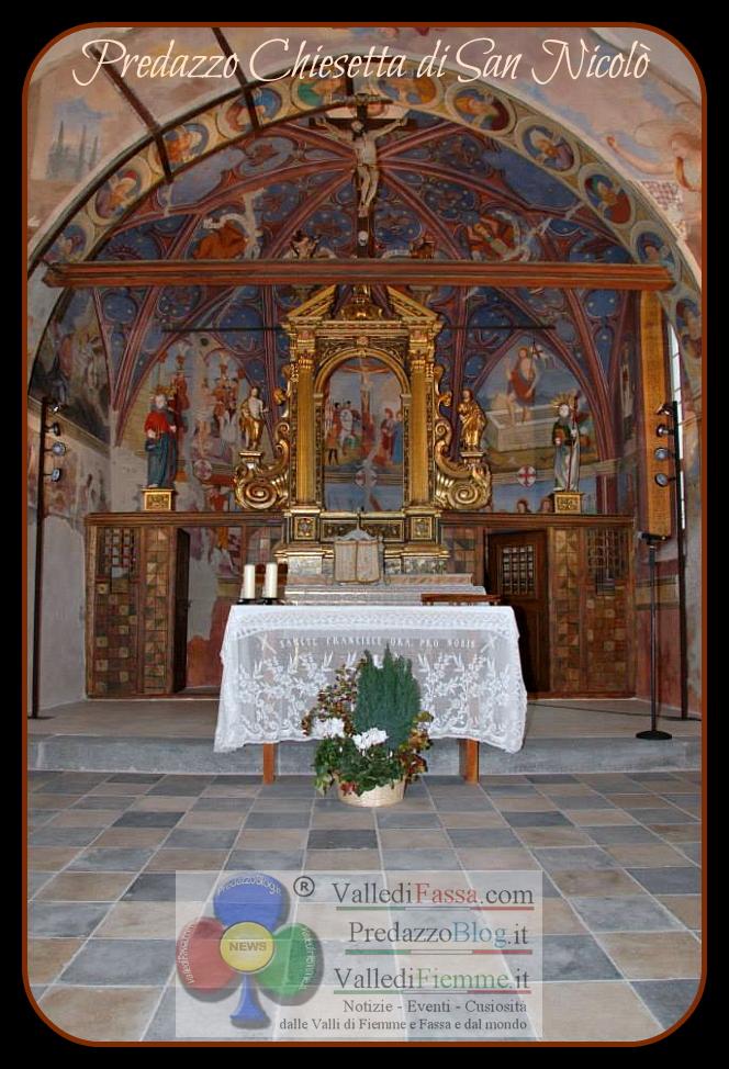 predazzo chiesetta san nicolo ristrutturata by predazzo blog Avvisi Parrocchia 26.6/3.4