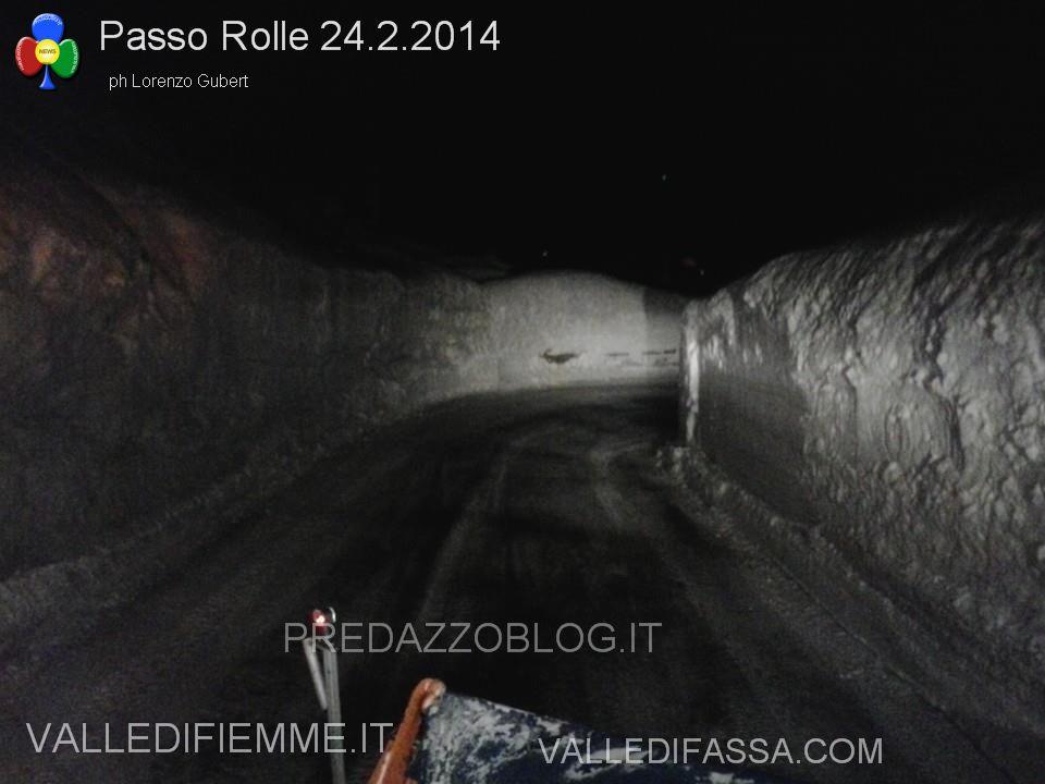 passo rolle neve e disagi al 24.2.2014 ph lorenzo gubert predazzo blog1 Passo Rolle, paesaggi da fiaba e disagi fra metri di neve