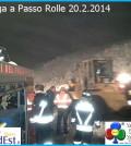 valanga a passo rolle 20 febb 2014