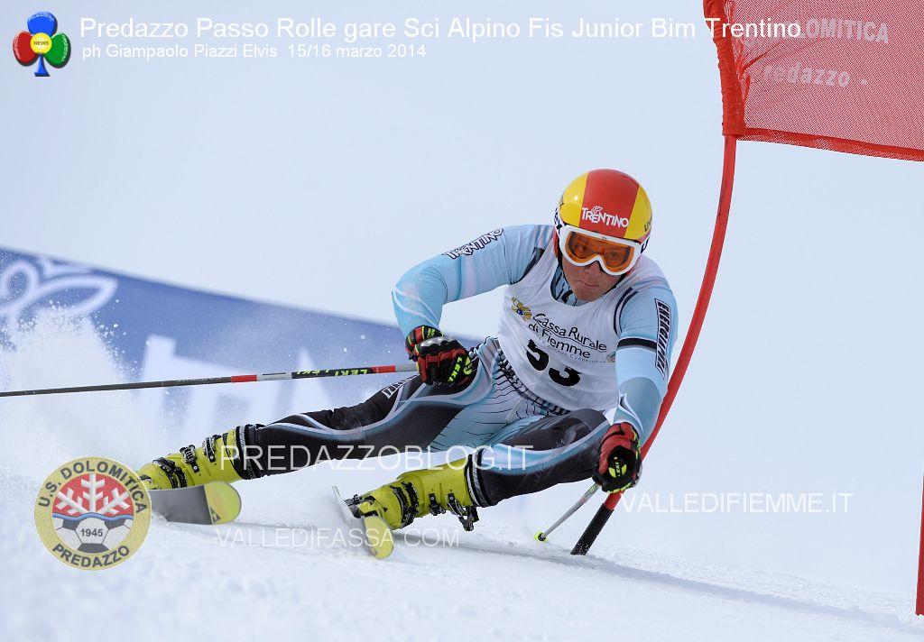 Predazzo Passo Rolle gare Sci Alpino Fis Junior Bim Trentino us dolomitica ph elvis1 Predazzo Passo Rolle gare Sci Alpino Fis Junior Bim Trentino   Foto