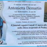 antonietta demartin 150x150 Avvisi Parrocchie 25.2/4.3 Necrologio Giuseppina Dellantonio