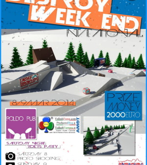 destroy week end lusia bellamonte fiemme 2014