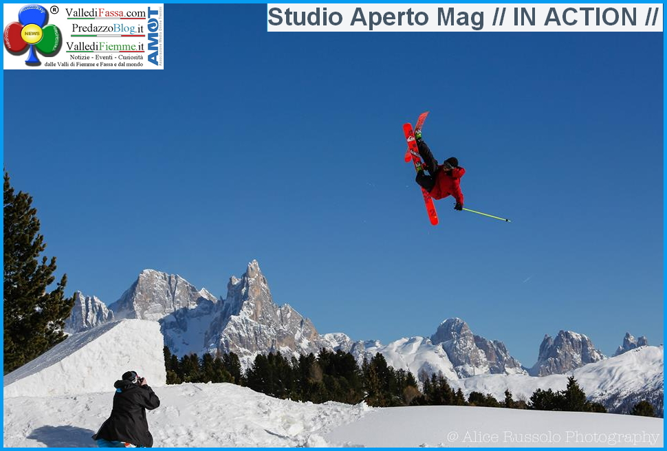 morea snowpark in action lusia fiemme Fiemme in TV,  questa sera In Action al Destroy Morea Snowpark