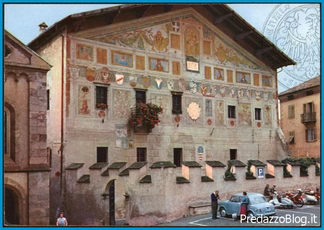 palazzo magnifica comunita di fiemme storico Predazzo, Museo Geologico delle Dolomiti   La reclusione in Valle di Fiemme