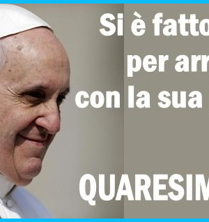 papa francesco quaresima 2014