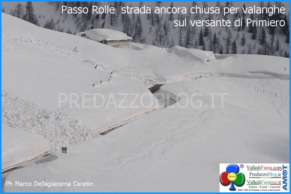 passo rolle chiuso per neve valanghe predazzo blog 2 Passo Rolle chiuso per valanga a Malga Fosse