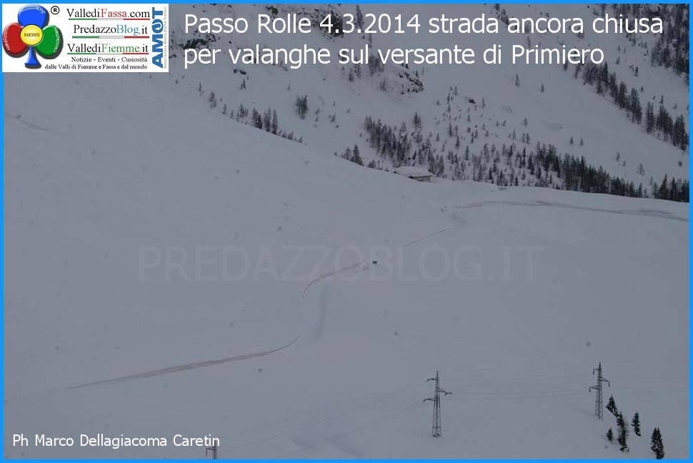 passo rolle chiuso per neve valanghe predazzo blog Passo Rolle,  ancora disagi per valanga .. siamo esasperati