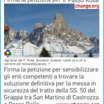petizione passo rolle change predazzo blog 150x150 SS 50 del Passo Rolle, le modifiche anti valanga