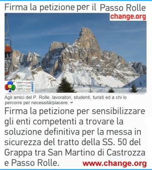 petizione passo rolle change predazzo blog