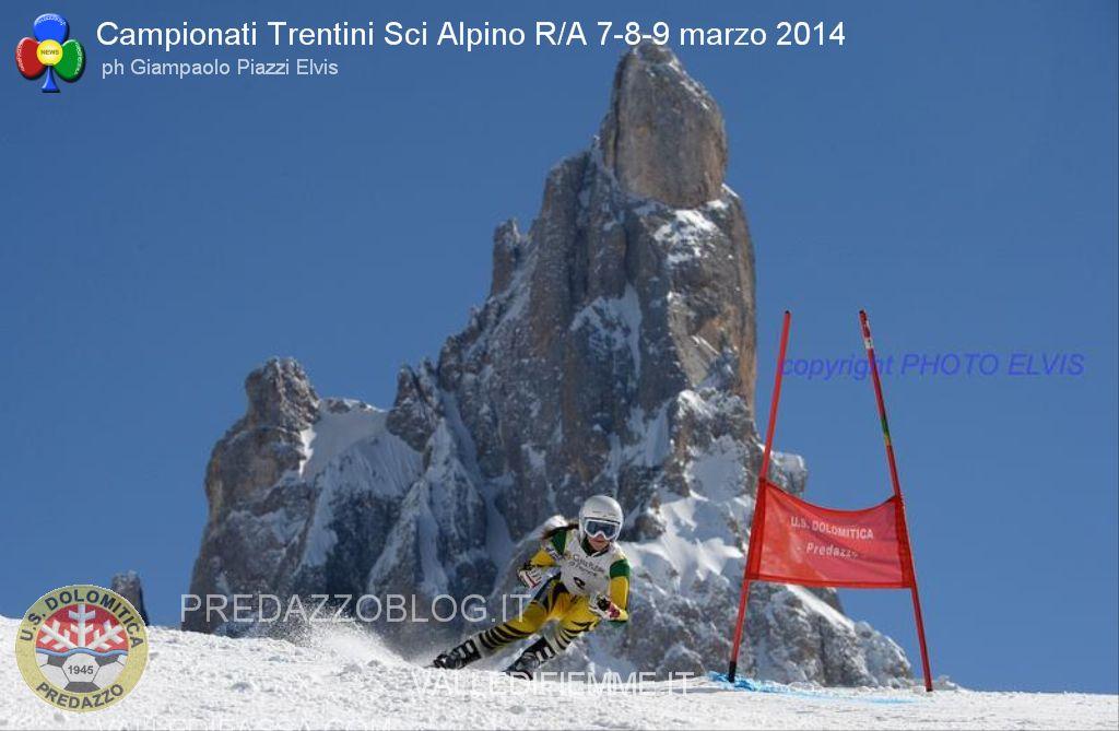 us dolomitica predazzo gare sci alpino al rolle 7 8 9 marzo 2014 campionati trentini predazzoblog1 Rolle, Trofeo 70° US Dolomitica e Campionato TN Slalom Speciale
