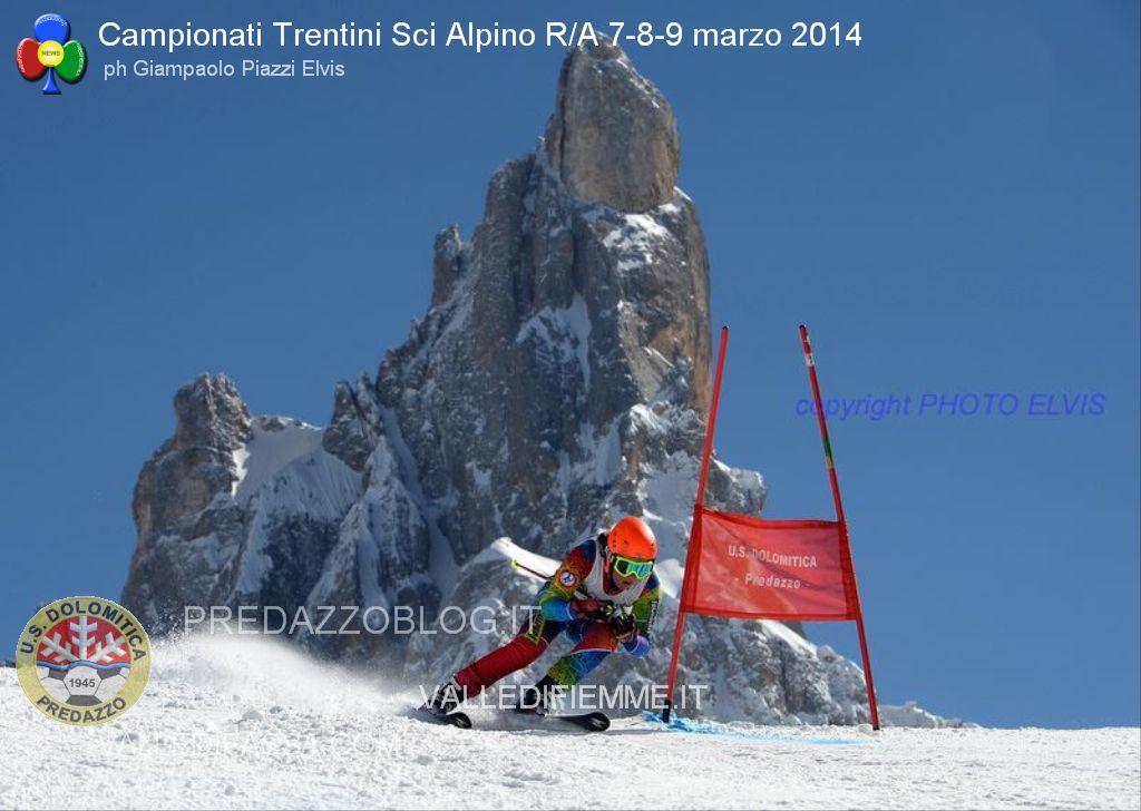 us dolomitica predazzo gare sci alpino al rolle 7 8 9 marzo 2014 campionati trentini predazzoblog5 Predazzo   Passo Rolle, Spettacolari Campionati Trentini Sci Alpino R/A