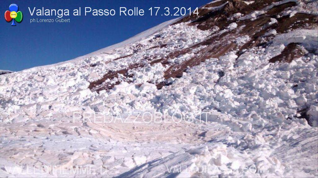 valanga al passo rolle 17.3.2014 predazzoblog.it3  Passo Rolle, operazione dinamite fallita! Apertura strada a singhiozzo