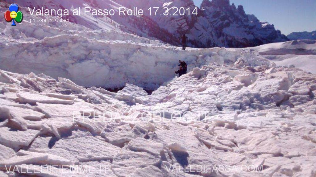 valanga al passo rolle 17.3.2014 predazzoblog.it5  Passo Rolle, operazione dinamite fallita! Apertura strada a singhiozzo