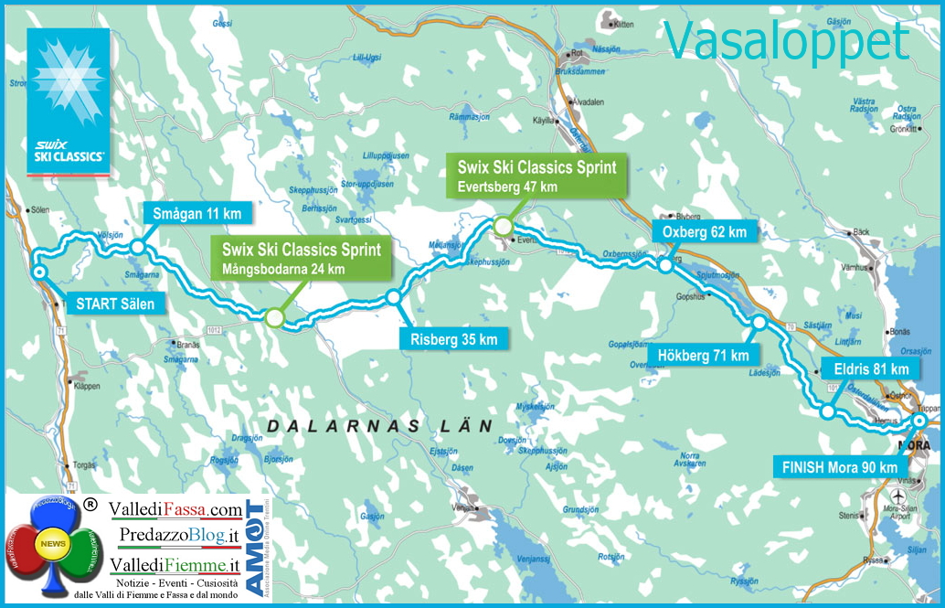 vasaloppet Vasaloppet 2014 in diretta streaming 2 marzo ore 8.00