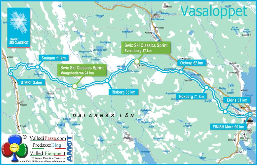 vasaloppet Vasaloppet 2015 la diretta streaming 8 marzo ore 8.00