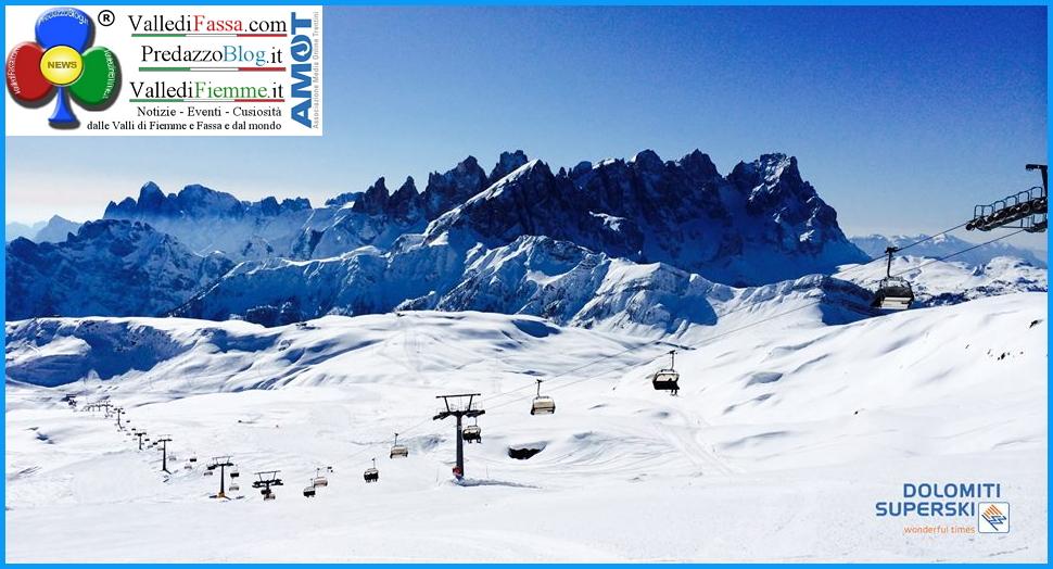 dolomiti superski calendario chiusura impianti predazzo blog Le date di chiusura impianti del Dolomiti Superski