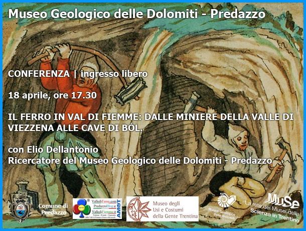 il ferro in fiemme Il ferro in Valle di Fiemme al Museo Geologico di Predazzo