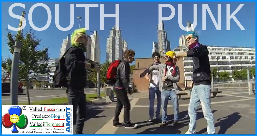 south punk di predazzo alla universal studio argentina 1 Need a Smile  il nuovo videoclip marchiato South Punk