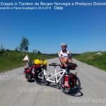 coppia in tandem norvegia predazzo 29.5.14 predazzoblog5 150x150 La Coppia in Tandem è partita da Bergen Norvegia verso Predazzo Dolomiti Italia