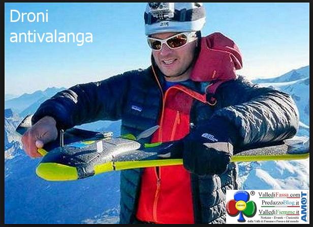 droni antivalanga Droni antivalanga per le ricerche rischiose