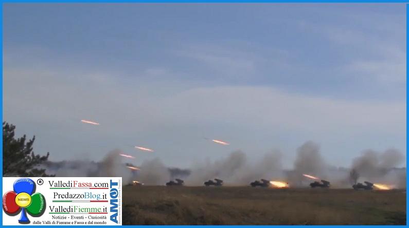lancio missili La più grande esercitazione missilistica della storia   Video