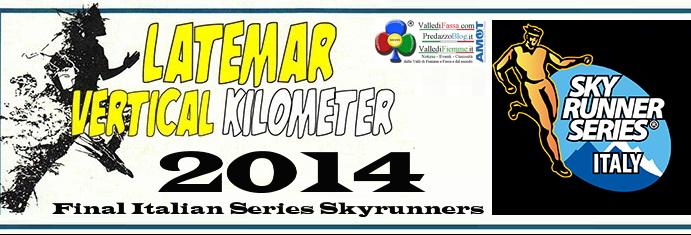 latemar vertical km 2014 predazzo1 La Latemar Vertical kilometer 2014 è prova finale delle Italian Series Skyrunners KV