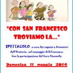 oratorio predazzo san francesco 150x150 Avvisi Parrocchie, 20 27 maggio