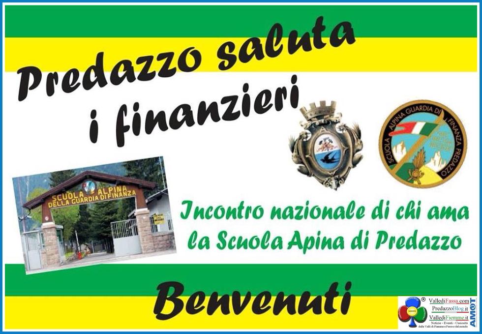 predazzo saluta i finanzieri Felicemente concluso il secondo raduno di Chi Ama la Scuola Alpina di Predazzo   le Foto