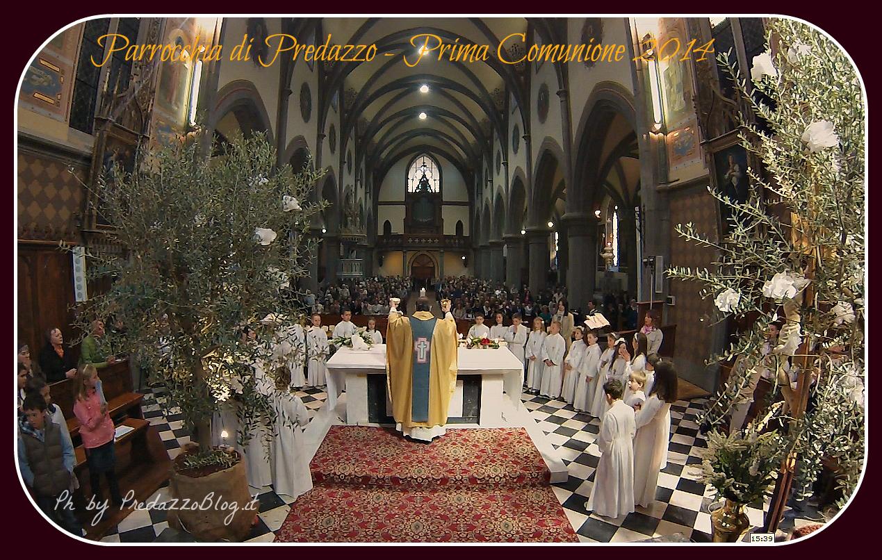 prima comunione 2014 predazzo blog Predazzo, avvisi della Parrocchia dal 18 al 25 maggio
