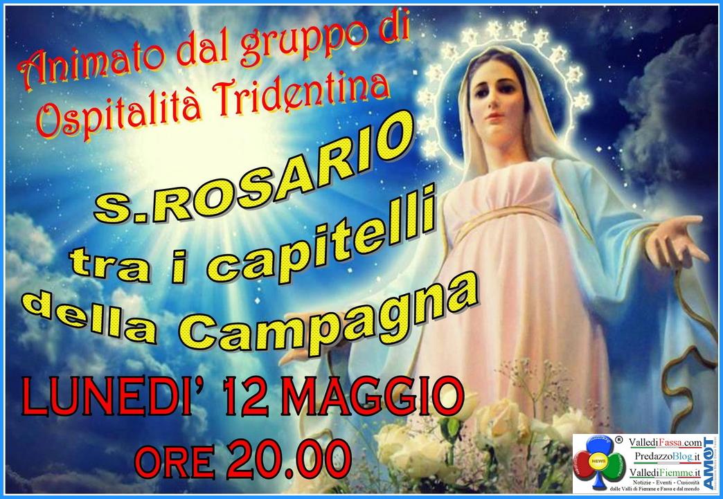 rosario capitelli campagna predazzo Predazzo, avvisi della Parrocchia 11/18 maggio