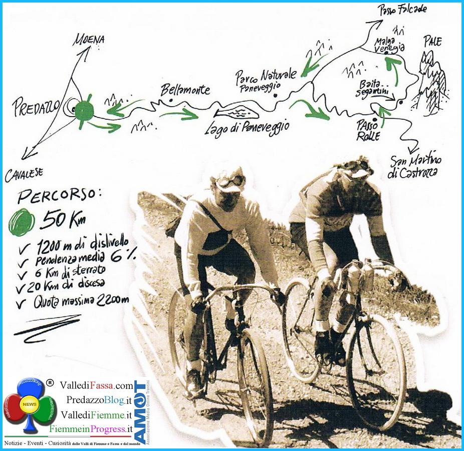 Alpina Dolomiti Bike Vintage 2014 fiemme predazzo Alpina Dolomiti Bike Vintage 2014 per Gino Bartali