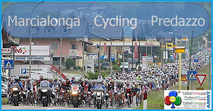 Marcialonga Cycling Predazzo Avviso chiusura strade a Predazzo dal 31.5 al 2.6.2019