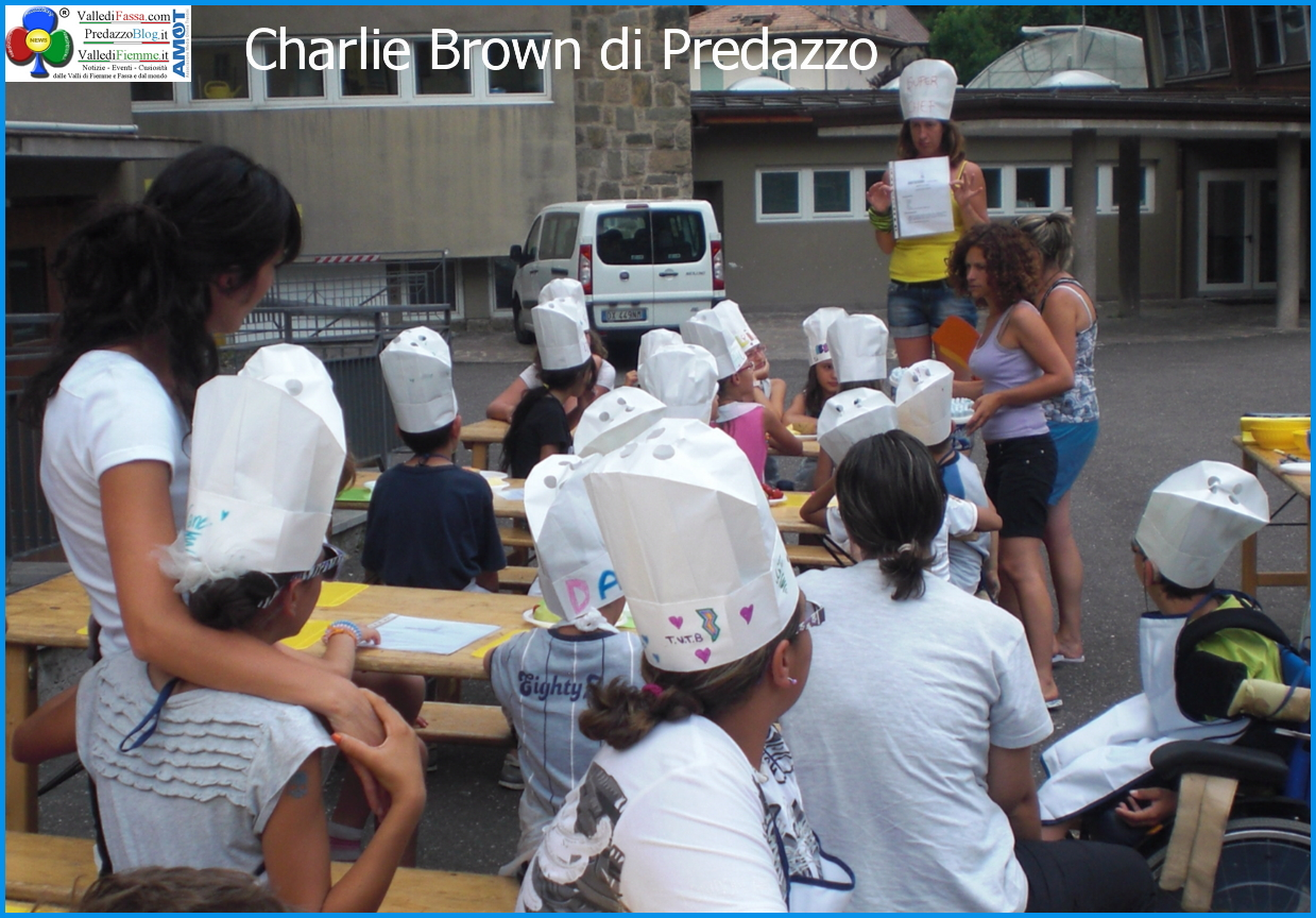 charlie brown predazzo Estate al Charlie Brown di Predazzo