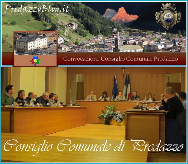 convocazione consiglio comunale predazzo Consiglio Comunale a Predazzo