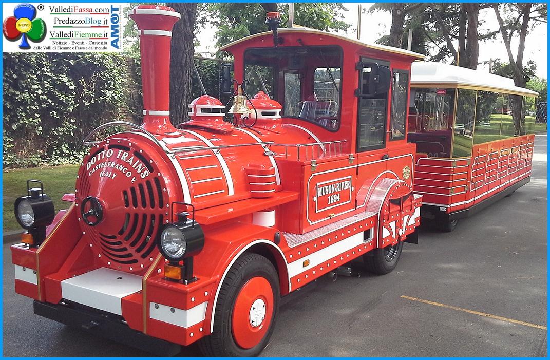 nuovo treno di predazzo 1 Rosso Treno è in arrivo a Predazzo