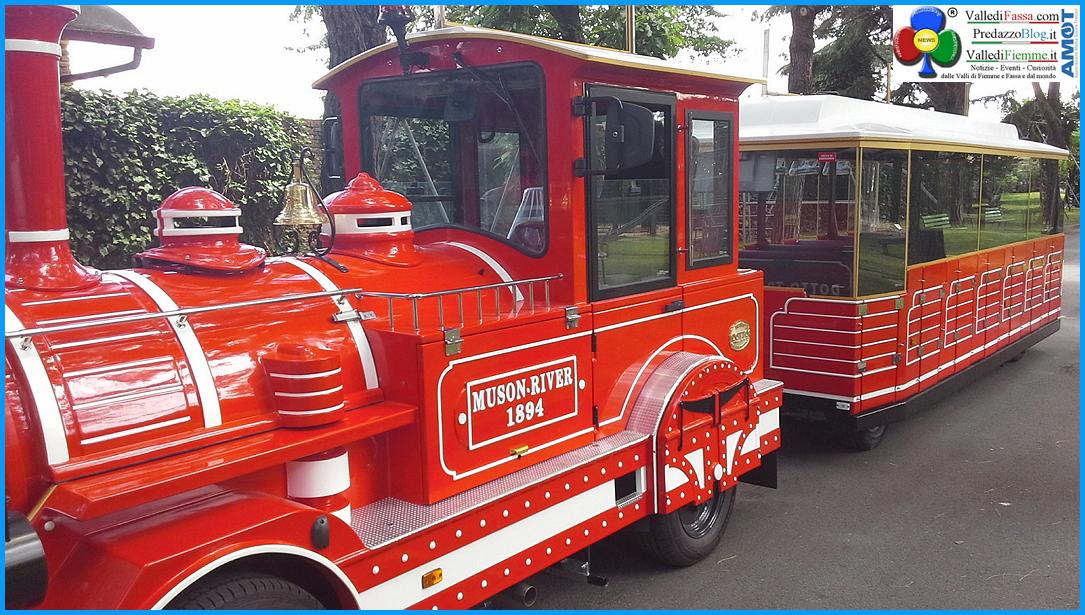nuovo treno di predazzo Rosso Treno è in arrivo a Predazzo