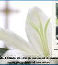 ringraziamento Tomaso Dellasega