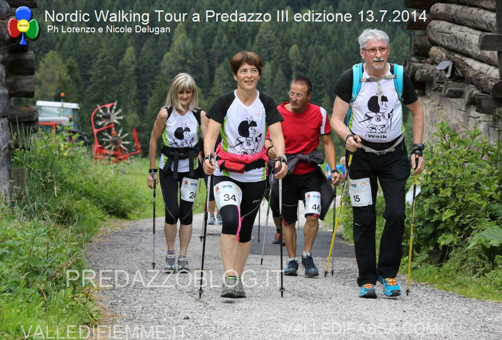 3 TROFEO LA SPORTIVA Super Sprint delle Dolomiti predazzo7 Predazzo, il 3° Trofeo La Sportiva Nordic Walking ha fatto centro