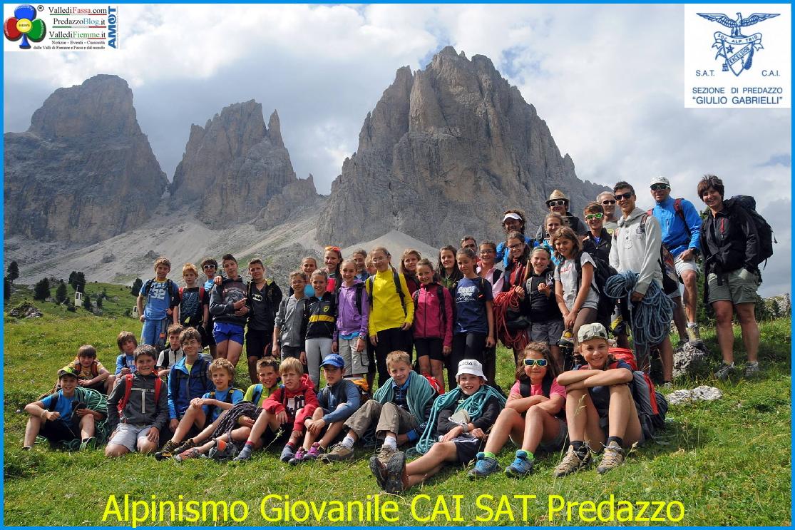 alpinismo giovanile cai sat predazzo Corso di Alpinismo Giovanile con il Cai Sat di Predazzo