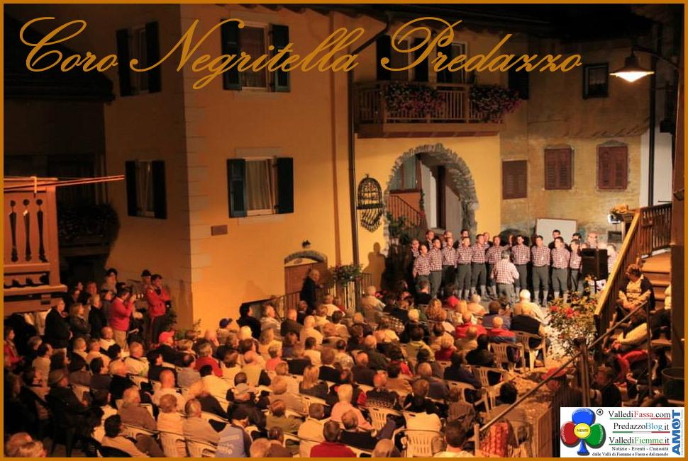 coro negritella predazzo 40° Rassegna dei Cori della Magnifica Comunità di Fiemme a Predazzo