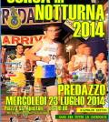corsa in notturna predazzo 2014 locandina