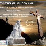 cristo pensante a bellamonte 150x150 Uscito il nuovo libro: IL CRISTO PENSANTE DELLE DOLOMITI di Pino Dellasega