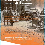 grande guerra e tecnologie sui monti di fiemme mostra muse predazzo fiemme 150x150 Sentinelle di Pietra, spettacolo al Forte Dossaccio